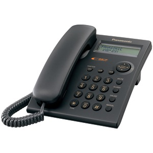 Single-Line Corded Phone System with Caller ID (Black)