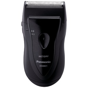 PANASONIC Pro-Curve(R) Battery-Operated Travel Shaver ES3831K