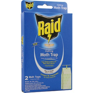 PIC Raid Clothing Moth Trap 2 pk CMOTHRAID