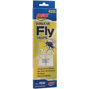 PIC Window Fly Traps 4 pk FTRP