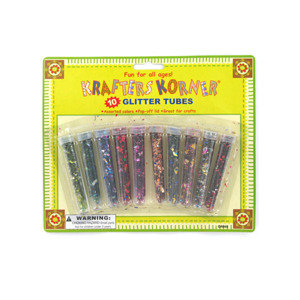 Craft glitter tubes - (Case pack of 24)
