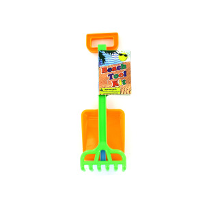 Beach tool play set - (Case pack of 24)