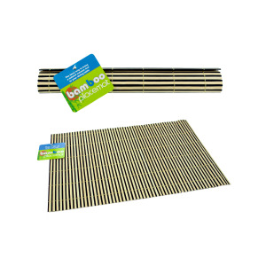 bulk buys Bamboo place mats - (Case pack of 24) HT670
