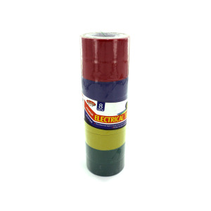 Colored electrical tape - (Case pack of 25)