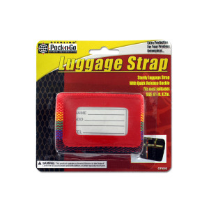 Luggage strap - (Case pack of 24)