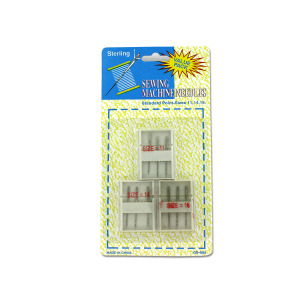 Sewing machine needles with cases - (Case pack of 24)