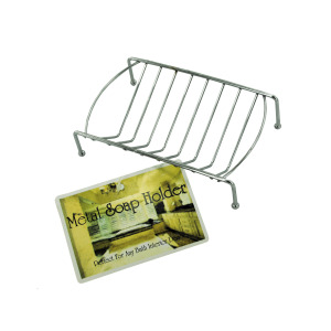 Metal Soap Dish - (Case pack of 24)