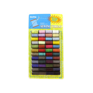 Sewing thread value pack - (Case pack of 24)