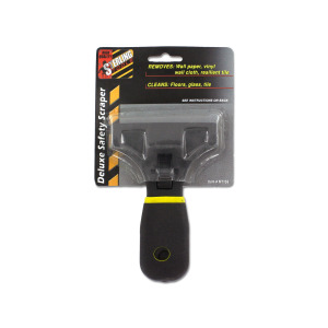 Deluxe safety scraper - (Case pack of 24)
