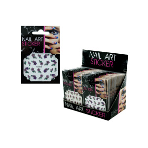 Nail Art Sticker Counter Top Display - (Case pack of 72)