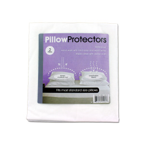 bulk buys Pillow Protectors Package Of 2 - (Case pack of 24) GR014