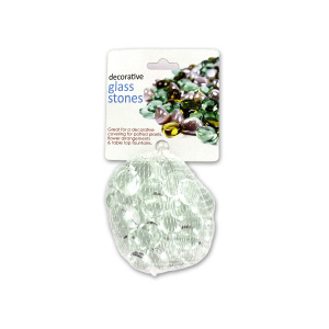 bulk buys Decorative glass stones - (Case pack of 24) CC242