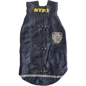 NYPD(R) Water-Resistant Dog Coat (Small)