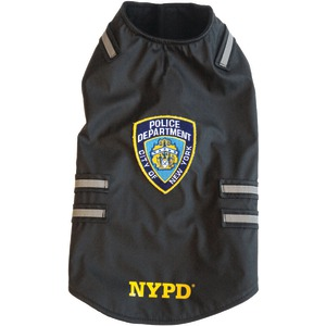 NYPD(R) Dog Vest with Reflective Stripes (X-Large)