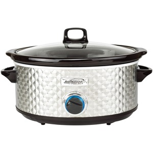 7-Quart Slow Cooker (Silver)