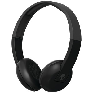 SKULLCANDY(R) Uproar Bluetooth(R) Over-the-Ear Headphones with Microphone (Black/Gray) S5URHW-509
