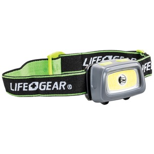 LIFE+GEAR 330-Lumen Spot & Flood COB Headlamp 41-3912