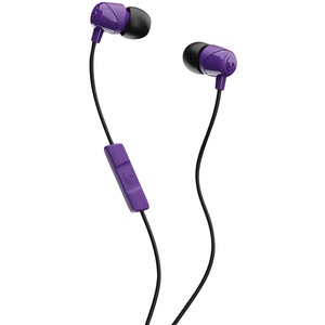 SKULLCANDY(R) Jib(TM) In-Ear Earbuds with Microphone (Purple) S2DUYK-629