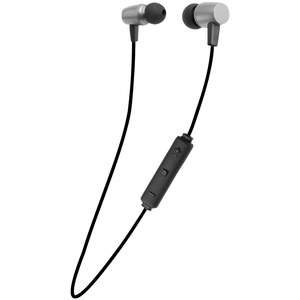 FISHER(R) COMPACT Bluetooth(R) Earphones with Microphone (Silver) FBEP285SIL