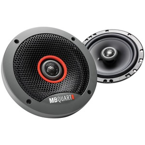 MB QUART(R) Formula Series 6.5 inch. Slim Mount 2-Way Coaxial Speakers FKB116S