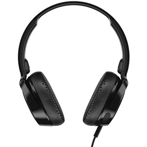 SKULLCANDY(R) Riff On-Ear Wired Headphones with Microphone (Black) S5PXY-L003
