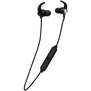 FISHER(R) SECURE FIT FBEP592 Bluetooth(R) In-Ear Earphones with Microphone (Black) FBEP592K