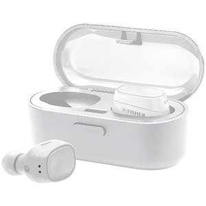 Freedom Sound True Wire-Free In-Ear Earphones with Bluetooth(R) & Microphone (White)