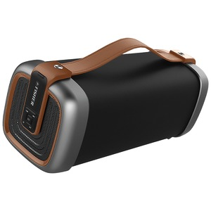 FISHER(R) TRAVELER SOUND Bluetooth(R) Speaker (Brown) FBX395BR