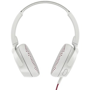 SKULLCANDY(R) Riff On-Ear Wired Headphones with Microphone (White) S5PXY-L635