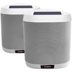 Keystone Solar-Charged Patio Speakers