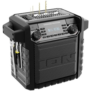 ION(R) Garage Rocker Water-Resistant Worksite Portable Speaker with Bluetooth(R) IPA108