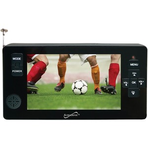 SUPERSONIC(R) 4.3 inch. Portable Digital LED TV with USB & microSD(TM) Card Inputs SC-143