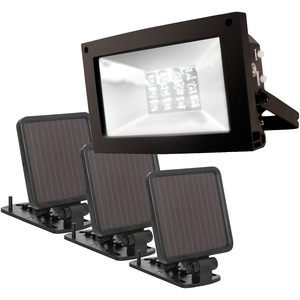 MAXSA(R) INNOVATIONS Solar-Powered Ultrabright Flood Light 40331