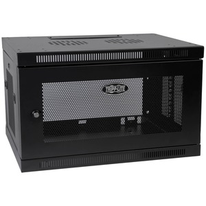 SmartRack 6U Low-Profile Switch-Depth Wall-Mount Rack Enclosure Cabinet