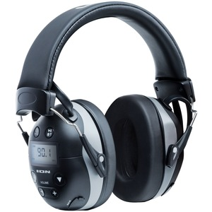 Tough Sounds(TM) 2 All-Weather Hearing Protection Headphones with AM/FM Radio, Bluetooth(R) & Microphone