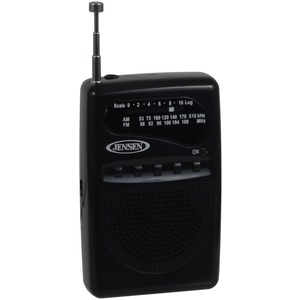 JENSEN(R) MR80 AM/FM Portable Pocket Radio MR-80
