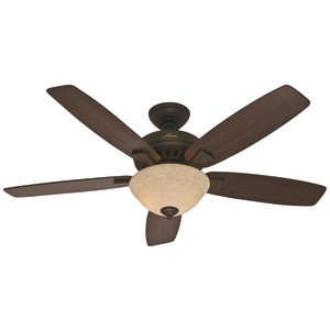 HUNTER(R) Banyan 52 inch. Fan with 5 Blades (Bronze/Roasted Walnut/Yellow Walnut) 53176
