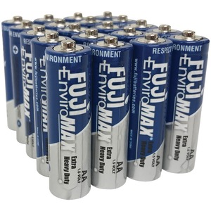FUJI BATTERIES EnviroMax(TM) AA Extra Heavy-Duty Batteries (20 pk) 3300BP20