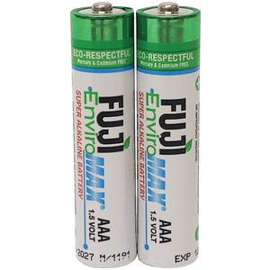 FUJI BATTERIES EnviroMax(TM) AAA Digital Alkaline Batteries (2 pk) 4400BP2