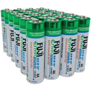 FUJI BATTERIES EnviroMax(TM) AA Digital Alkaline Batteries (24 pk) 4300BP24