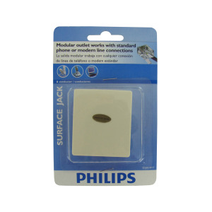 bulk buys Philips 6 conductor surface jack - (Case pack of 24) EL016