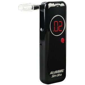 ALCOHAWK(R) Ultra Slim Breathalyzer AH2800S