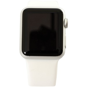 Refurbished 8GB Apple Watch(R) Series 1 (38mm, Silver-White)
