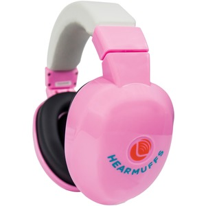 LUCID AUDIO Infant HearMuffs(TM) (Pastel Pink) LA-INFANT-PM-PP