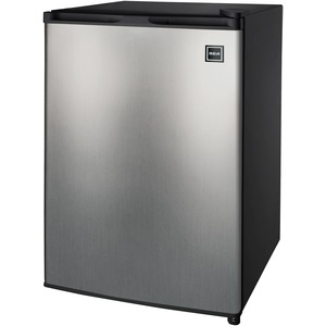 2.6 Cubic-ft Single Door Refrigerator (Stainless Steel)
