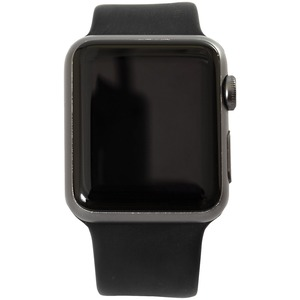 Refurbished 8GB Apple Watch(R) Series 1 (42mm, Space Gray-Black)