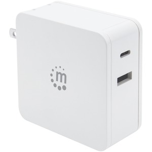 MANHATTAN(R) 60-Watt Power Delivery Wall Charger (White) 180221