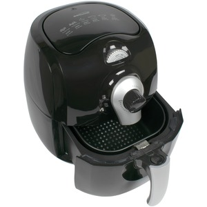 3.7-Quart Electric Air Fryer (Black)