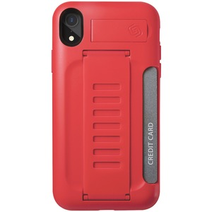 BOSS Kickstand Wallet Case for iPhone(R) XR (Ruby)