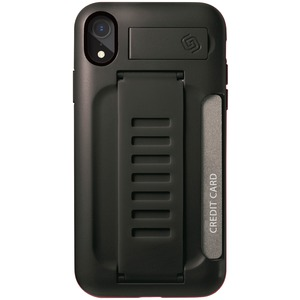 BOSS Kickstand Wallet Case for iPhone(R) XR (Charcoal)